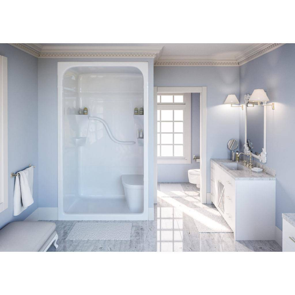 Mirolin Sh4 Madison 4 One Piece Shower Stall Without Seat Left