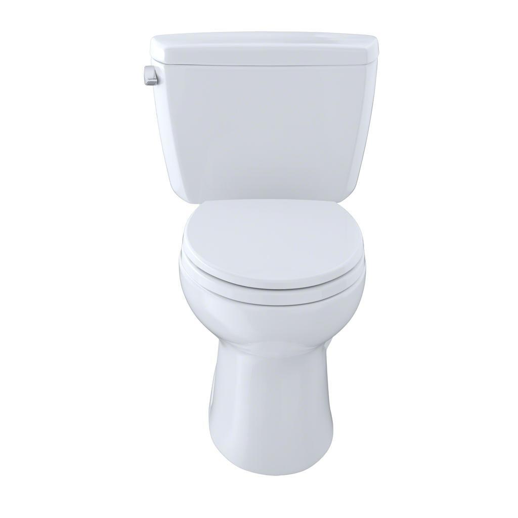Toto Cst744el Eco Drake Ada Two Piece Elongated Toilet