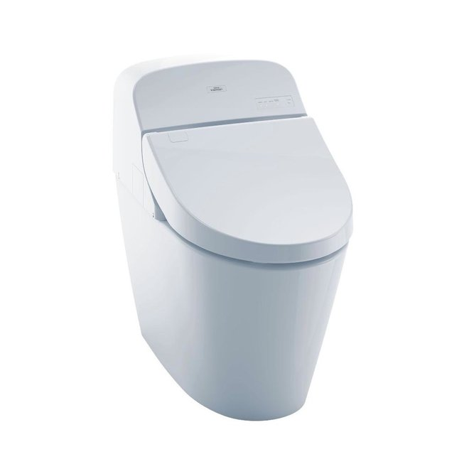 Toto TOTO MS920CEMFG Integrated Toilet G400 WASHLET Cotton