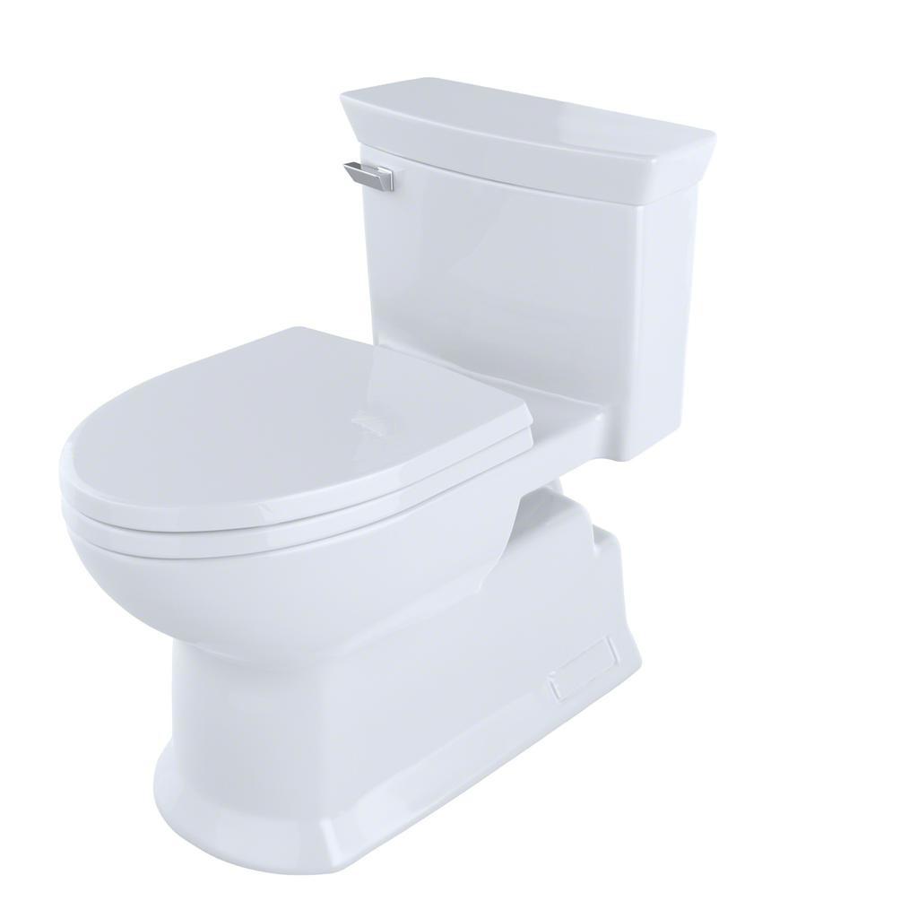 TOTO MS964214CEFG Eco Soirée One Piece Elongated Toilet ...