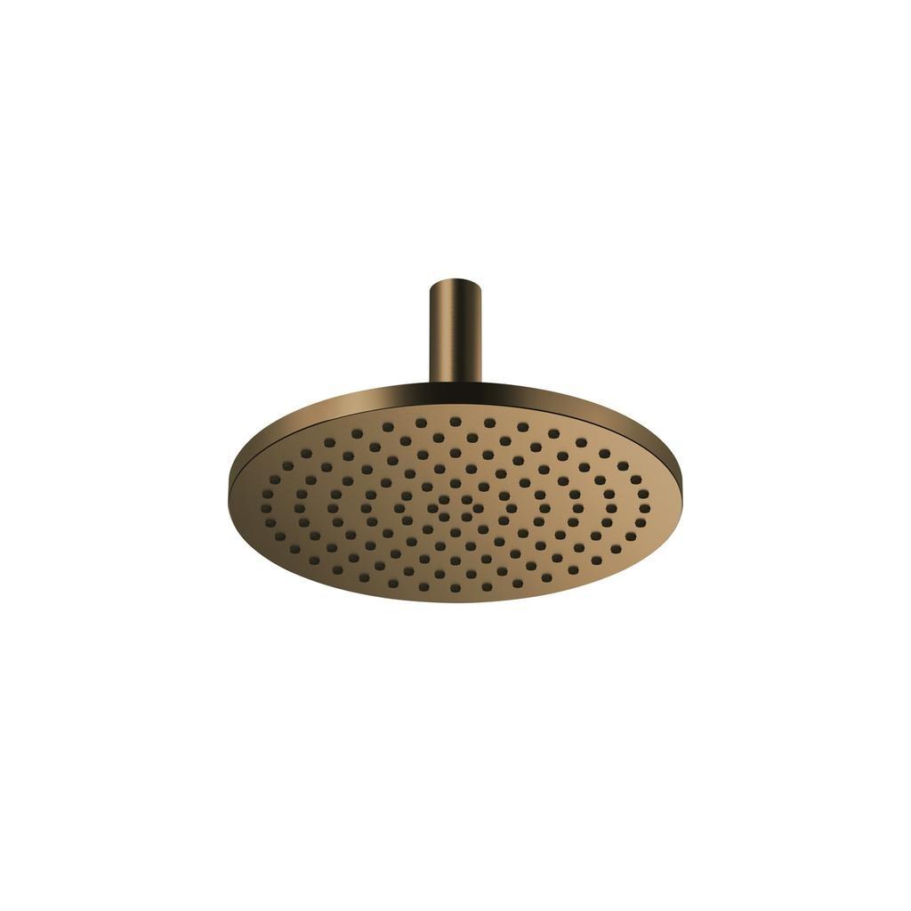 Dornbracht 28689970 Vaia Rainshower Ceiling Mounted Dark Brass Matte