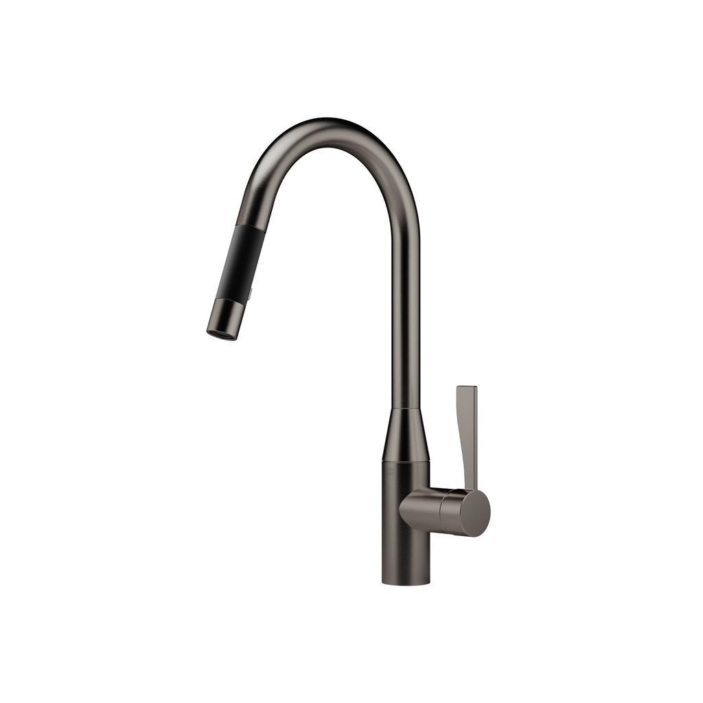 Dornbracht 33870895 Sync Pull Down Kitchen Faucet Dark ...