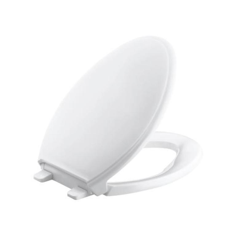 Outstanding Kohler Kohler 4733 47 Glenbury Quiet Close With Grip Tight Elongated Toilet Seat Machost Co Dining Chair Design Ideas Machostcouk