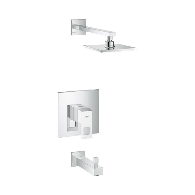 Grohe 35027000 Eurocube Pbv Tub And Shower Set Home Comfort Centre