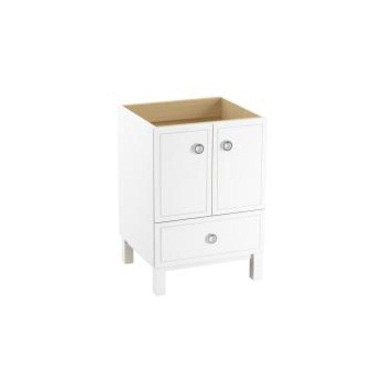 Kohler K99501 Jacquard 24 Vanity Furniture Legs 2 Doors 1 Drawer