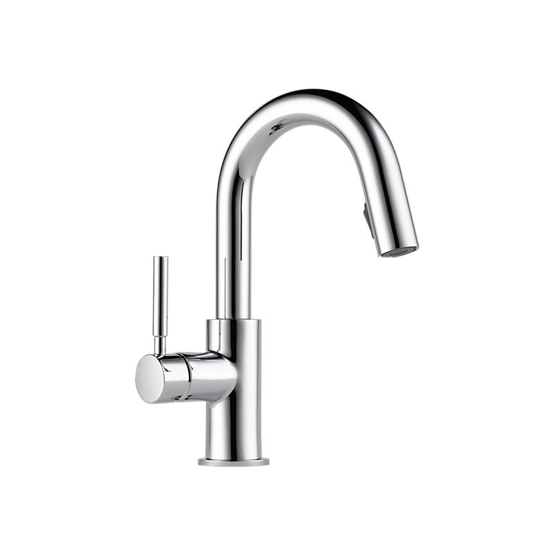 solna single handle pull- down prep faucet