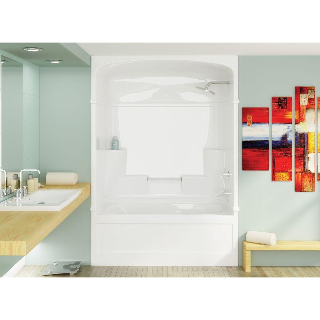 Mirolin Kd53r Empire Tub Shower White