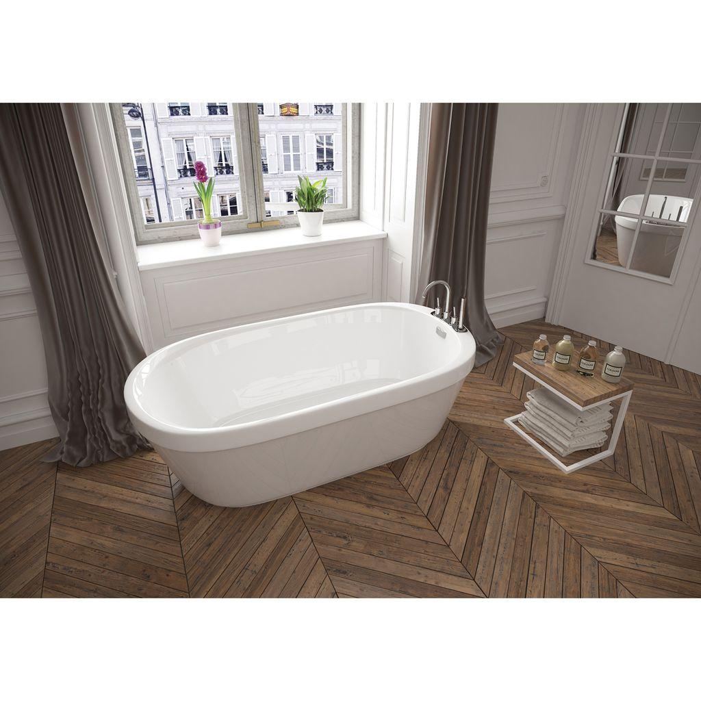 Mirolin Cf2007 Demi Acrylic Free Standing Bath Tub Home Comfort Centre