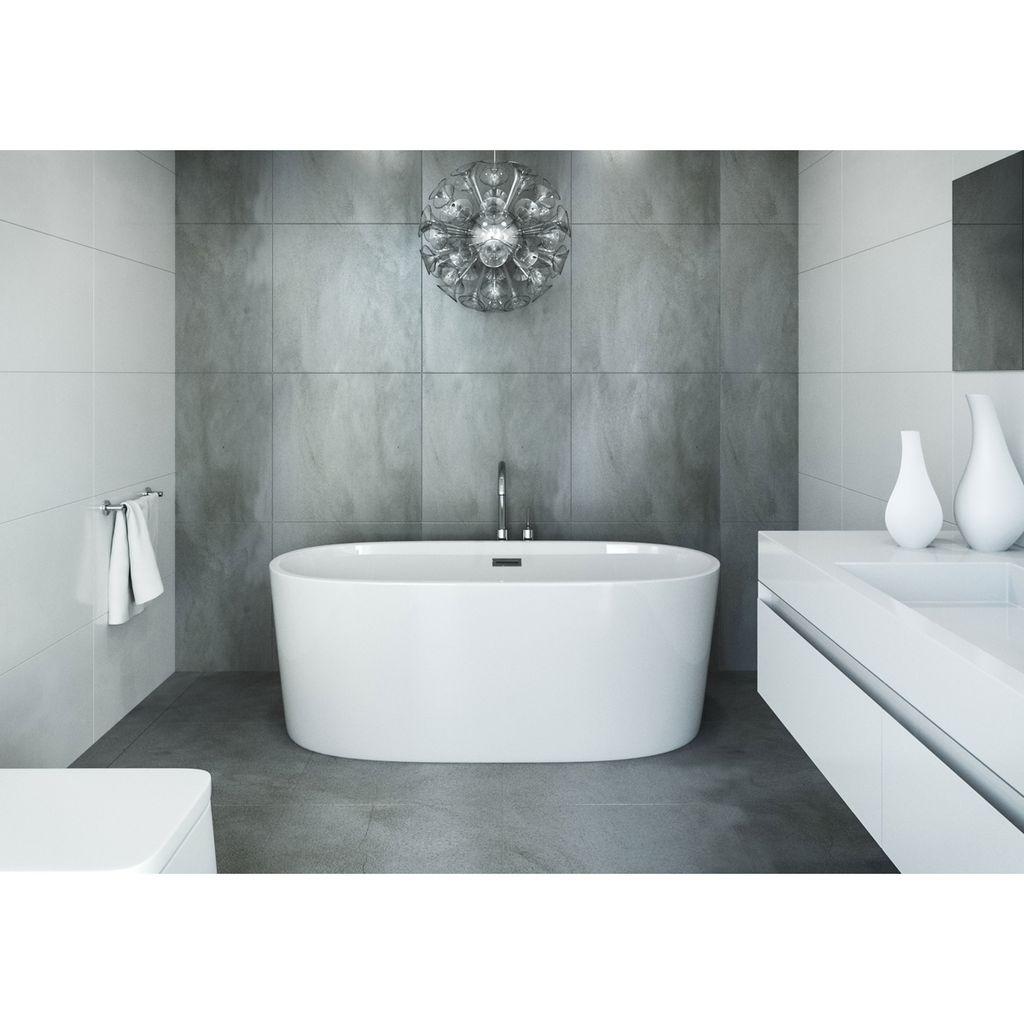 Mirolin Cf1018 Ilusa Slimline Acrylic Free Standing Bath Tub Home Comfort Centre