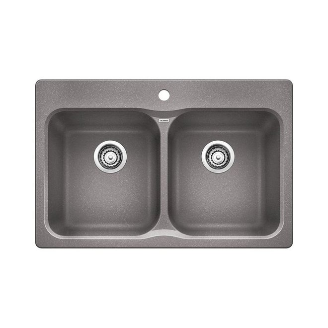 Blanco 400307 Vision 210 Double Drop In Kitchen Sink Home Comfort Centre