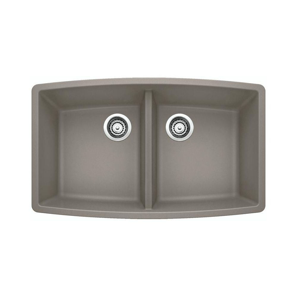 Blanco 401189 performa u 2 double undermount kitchen sink