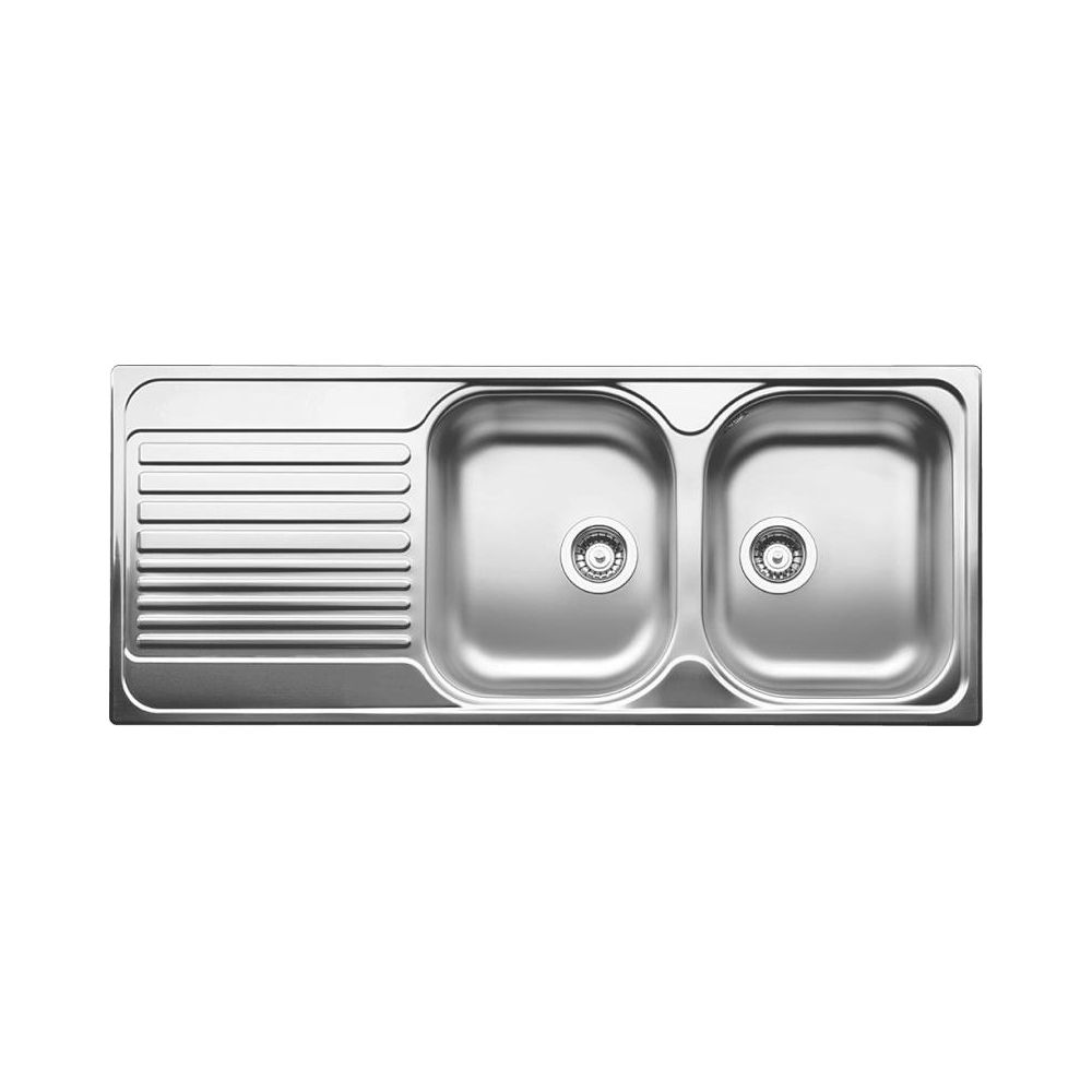 Blanco 401654 Tipo 8s Double Drop In Kitchen Sink Lh Drainboard