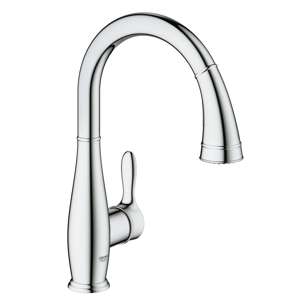 Grohe 30213001 Parkfield Single Handle Pull Out Kitchen Faucet