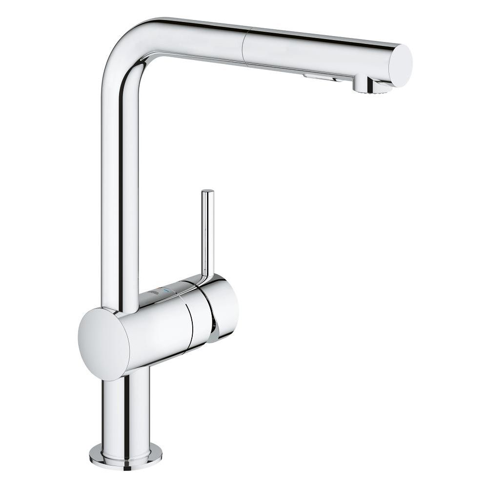 Grohe 30300000 Minta Single Handle Pull Out Kitchen Faucet Home