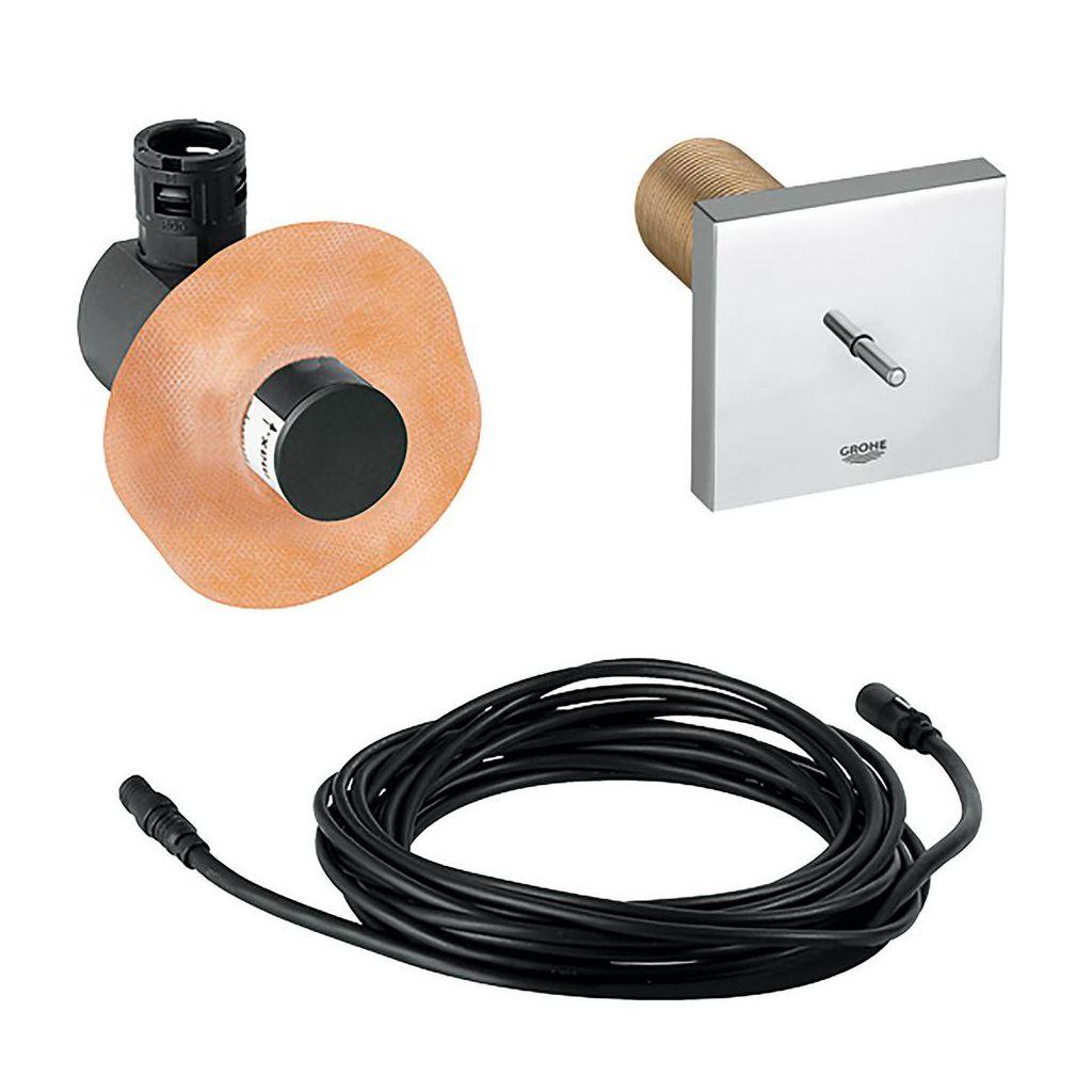 Grohe 36419000 F Digital Temperature Sensor Rough In Kit Home Comfort Centre