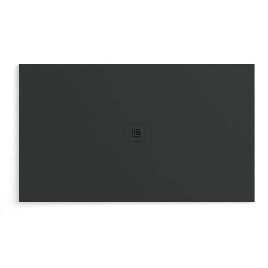Fiora Sssp7242 Shower Base Quadro Slate 72x42 Black Home Comfort