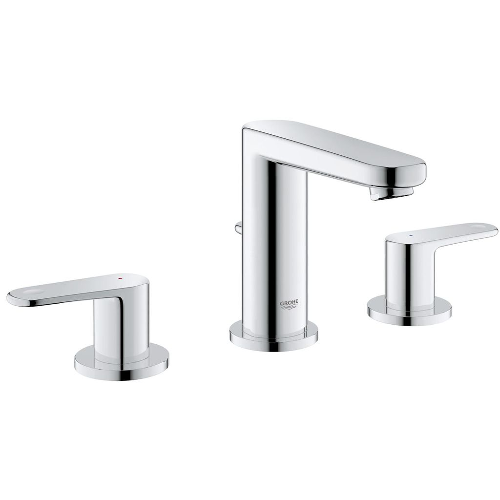 "Grohe 2030200A Europlus 8"" Widespread S Size Bathroom Faucet Chrome - Home Comfort Centre"