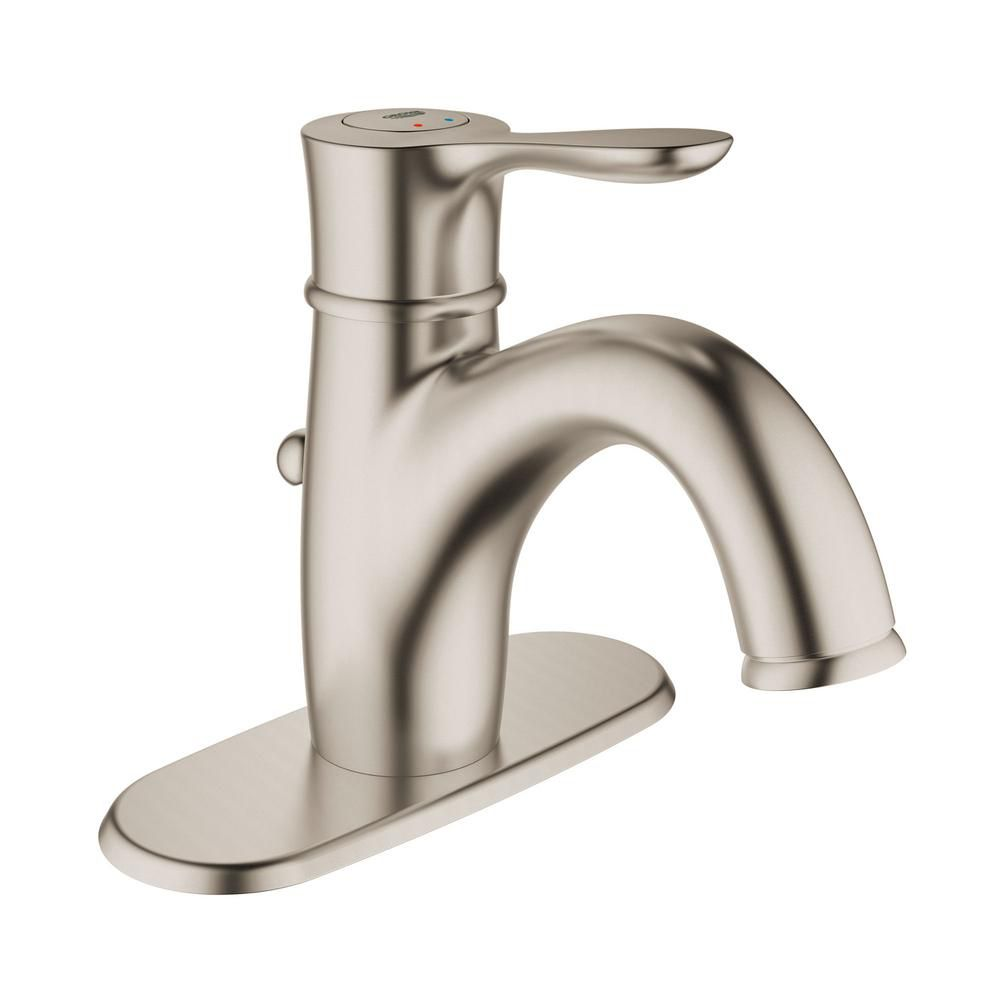 Grohe 23306ena Parkfield Single Handle Bathroom Faucet Brushed