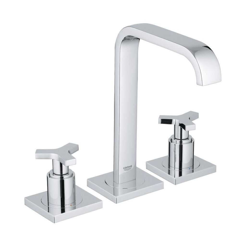 "Grohe 2014800A Allure 8"" Widespread Two Handle M Size Bathroom Faucet Chrome - Home Comfort Centre"