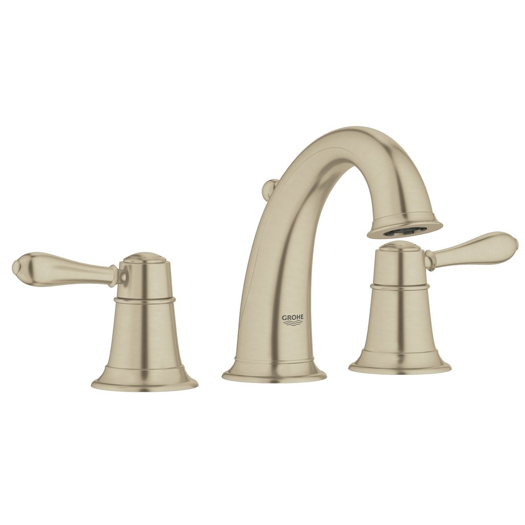 Surprising Grohe 20423En1 Fairborn 8 Widespread Bathroom Faucet Brushed Nickel Interior Design Ideas Gresisoteloinfo