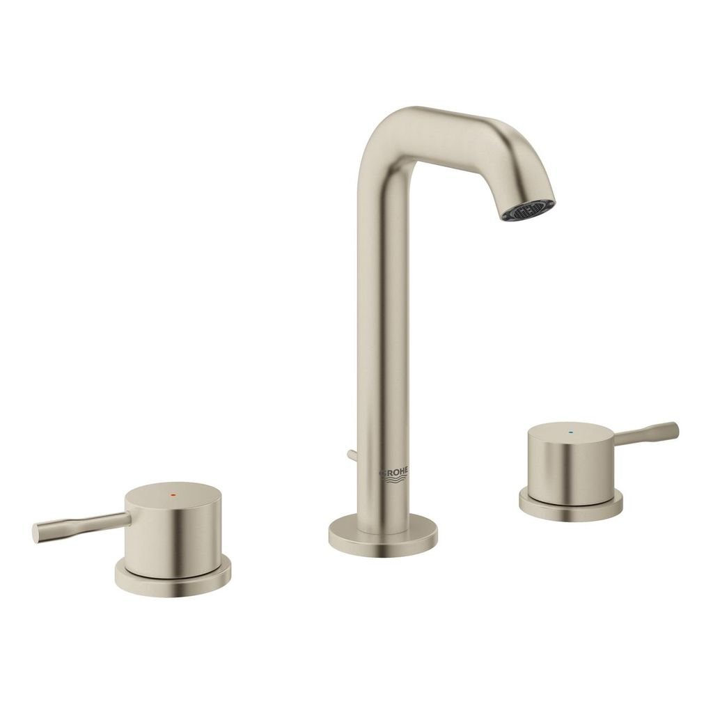 "Grohe 20297ENA Essence 8"" Widespread M Size Bathroom Faucet Brushed Nickel - Home Comfort Centre"
