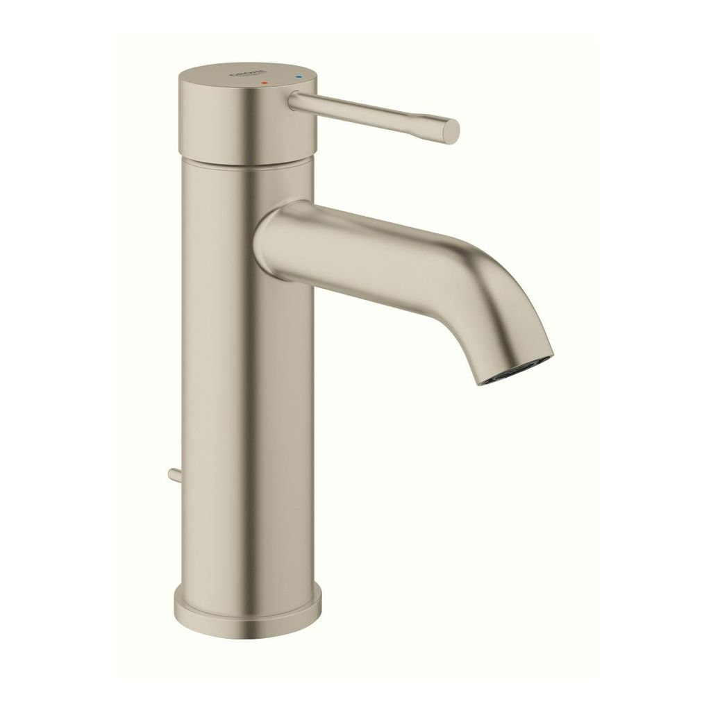 Grohe 23592ENA Essence Single Handle S Size Bathroom Faucet Brushed Nickel - Home Comfort Centre