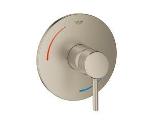 Brushed Nickel Grohe 29100EN1 Concetto Pressure Balance Valve Trim