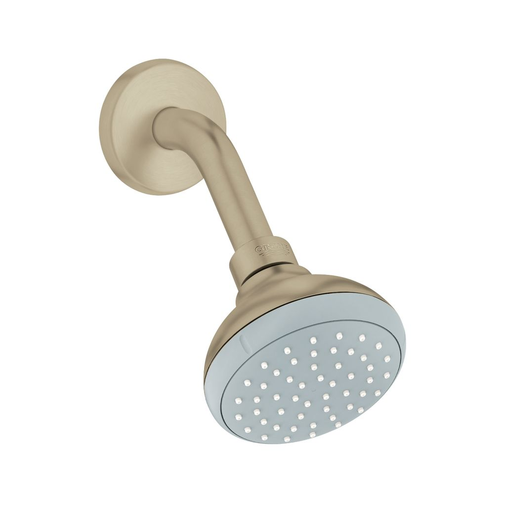 Grohe 26118en1 Agira Shower Arm And Shower Head Brushed Nickel