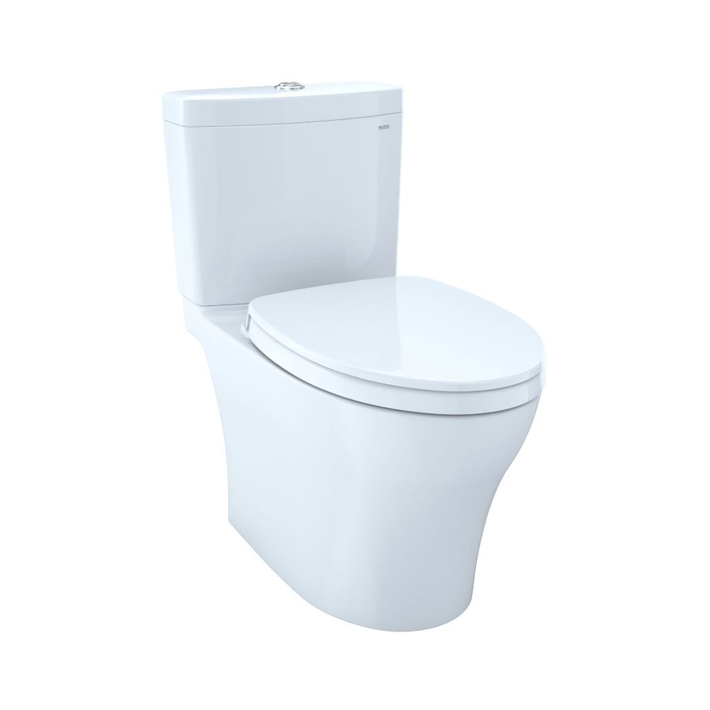 TOTO CST446CEMG Aquia IV Elongated Toilet Cotton