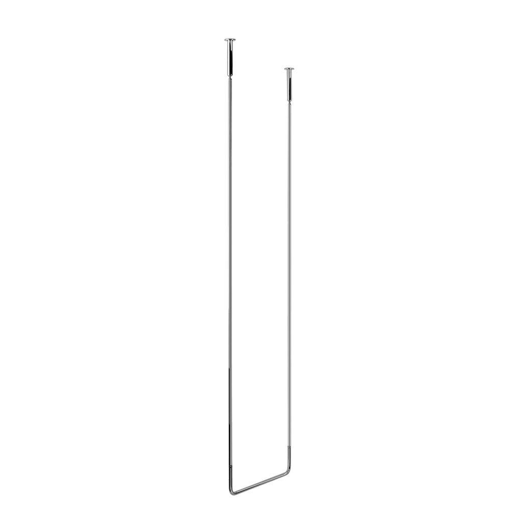 Gessi 38142 Goccia Ceiling Mounted Towel Bar Long Chrome