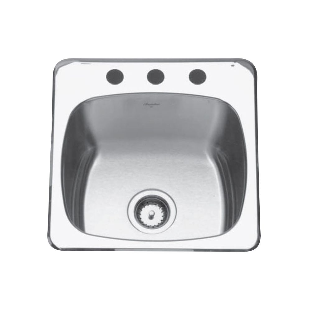Kindred Qsl2020 10 20 X 20 Single Bowl Utility Sink 1 Hole Home