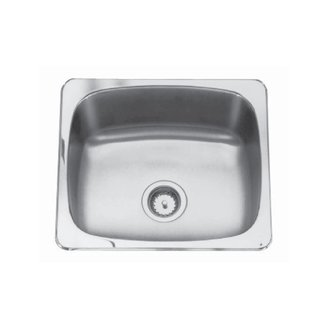 Kindred Qsl2225 12 22 X 25 Single Bowl Laundry Sink 3
