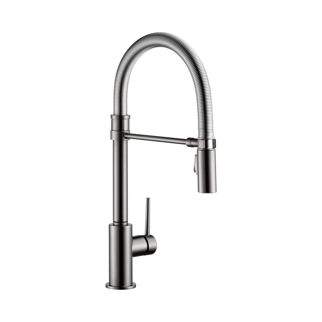 Delta 9659 Trinsic Pro Single Handle Pull Down Kitchen Faucet Spring