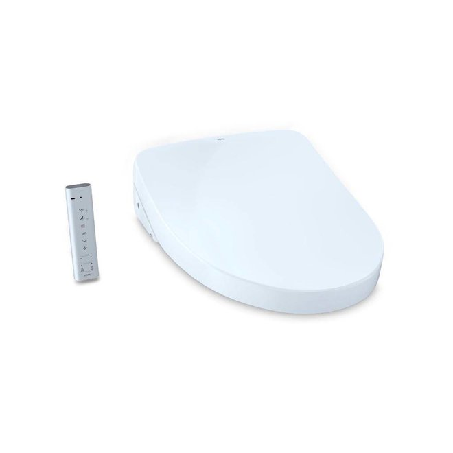 Toto TOTO SW3056T40 S550e WASHLET Contemporary Elongated With eWater Cotton