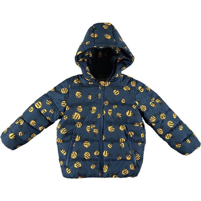 Hubert Bee Hooded Puff Coat
