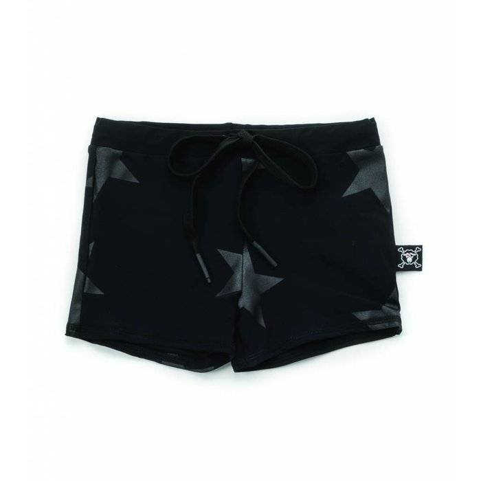 Star Swim Shorts Black