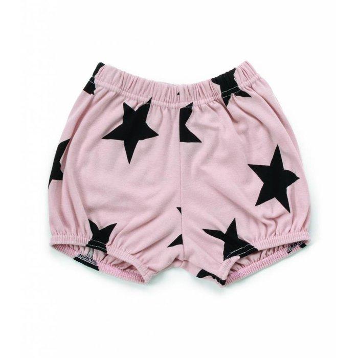 Star Yoga Shorts Powder Pink