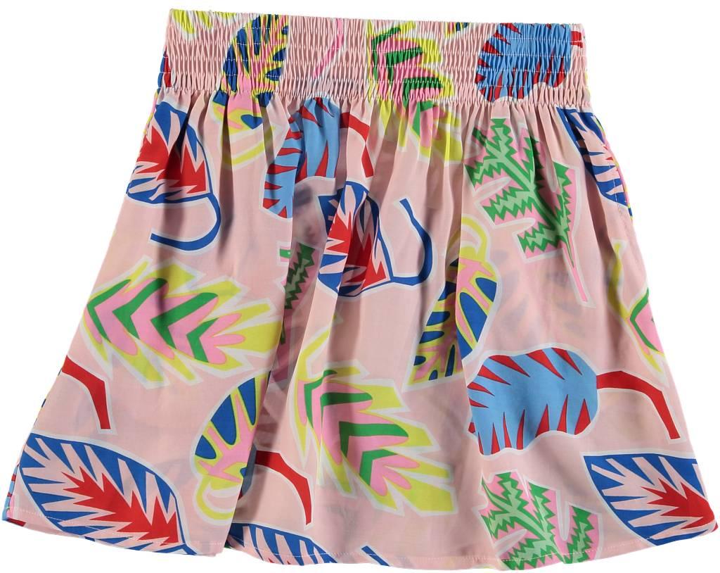 Palm Leaf Skirt Multi