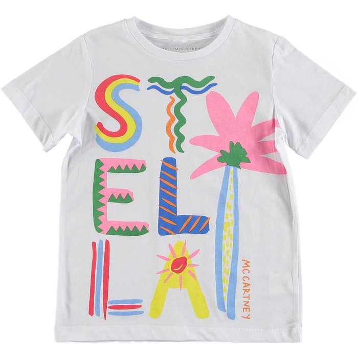 Multicolor Stella Short Sleeve Tee Early