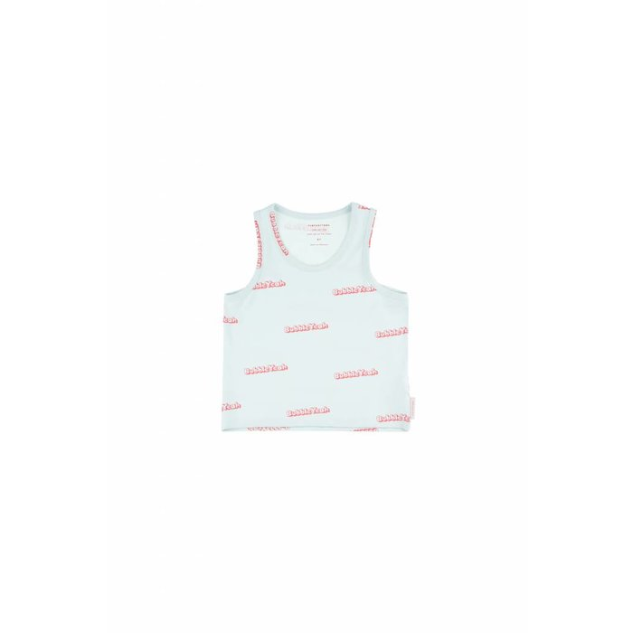 Bubble Yeah Crop Tank Top Light mint/Rose