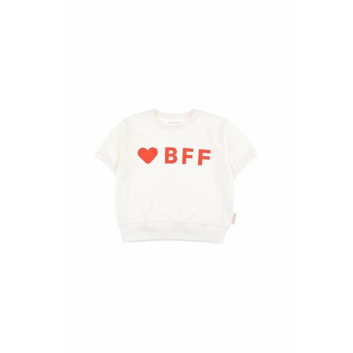 Bff Sweatshirt Off white/Red