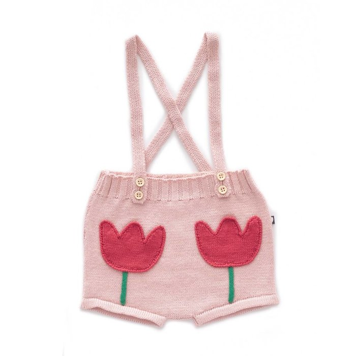 Tulip Pocket Shorts Light Pink/Multi