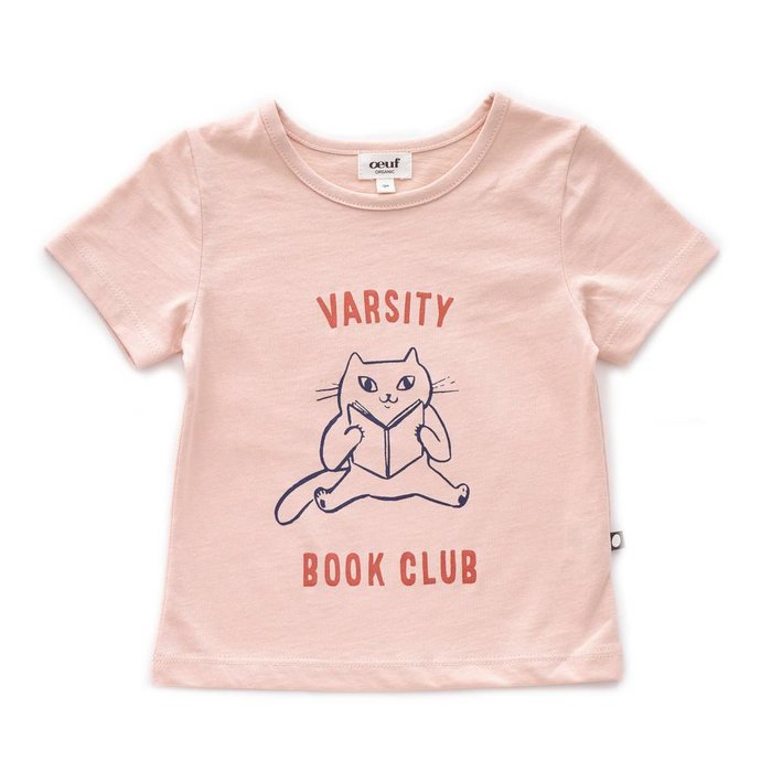 Tshirt Light pink/Book club