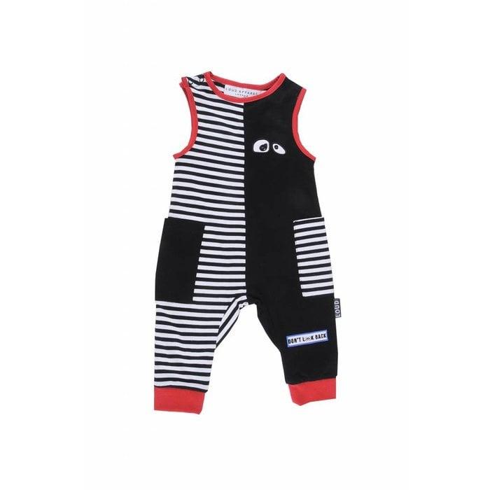 Eager Jumpsuit Stripe/Black