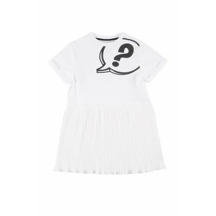 Prime Dress Loose Fit White
