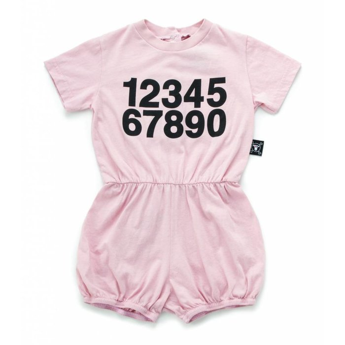 Countup Yoga Overalls Powder Pink