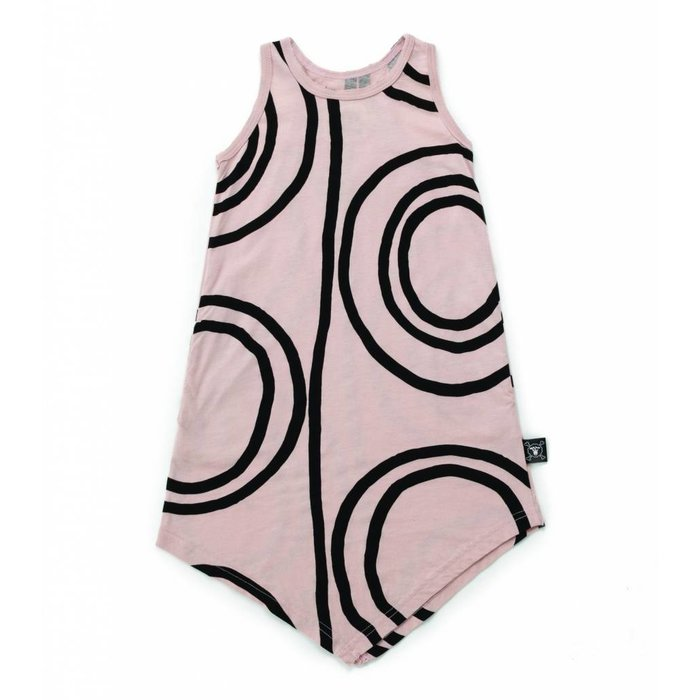 Circle Tank Dress Powder Pink