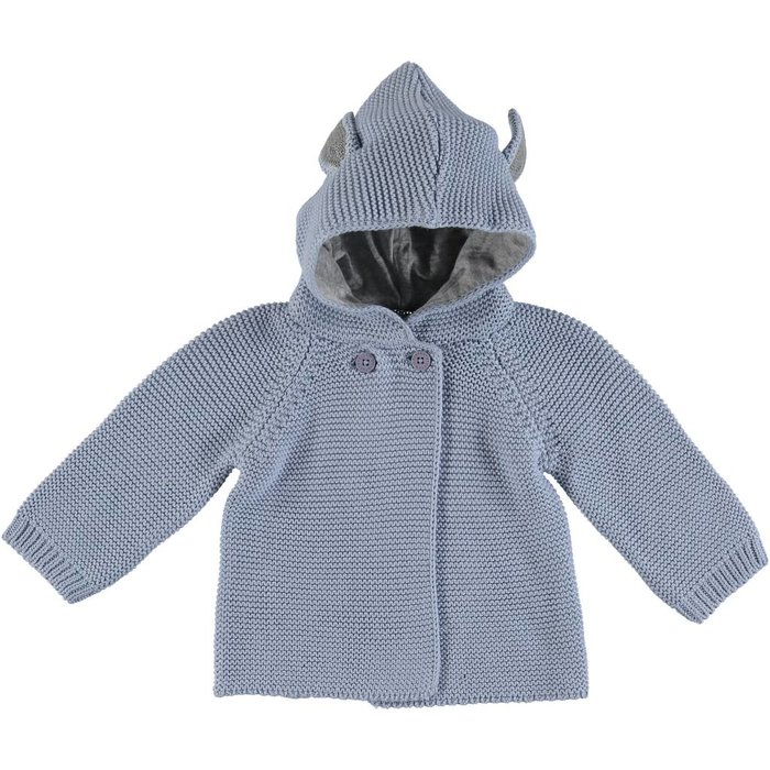 Cardigan with Ears Blue