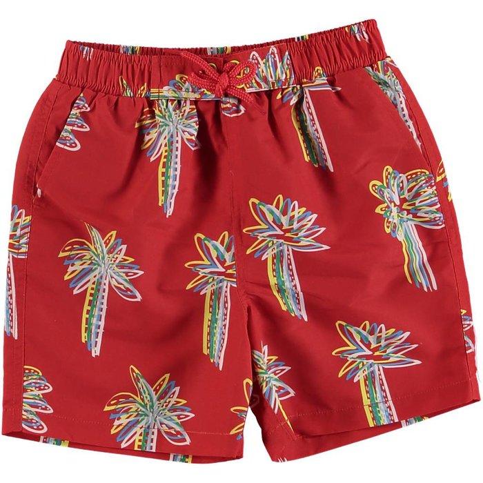 Palms Swim Shorts Red