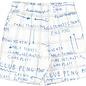 Shorts Game Plan Grey/Ink Blue